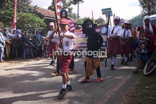 Karnaval Pitulasan Kecamatan Karangtengah – InfoWonogiri.com